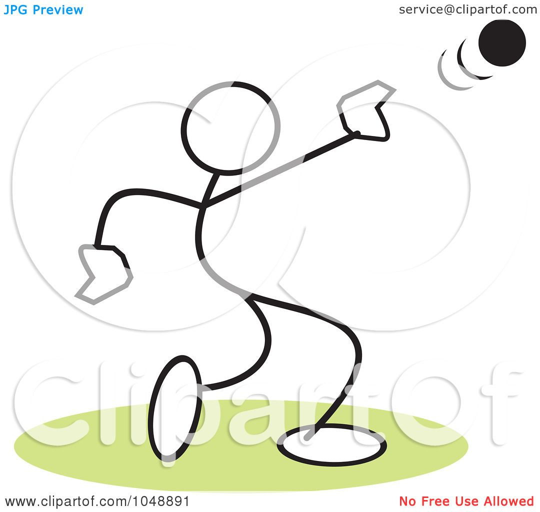 Shot Put Clip Art http://www.clipartof.com/portfolio/sajem/illustration/stickler-throwing-a-shot-put-over-green-1048891.html