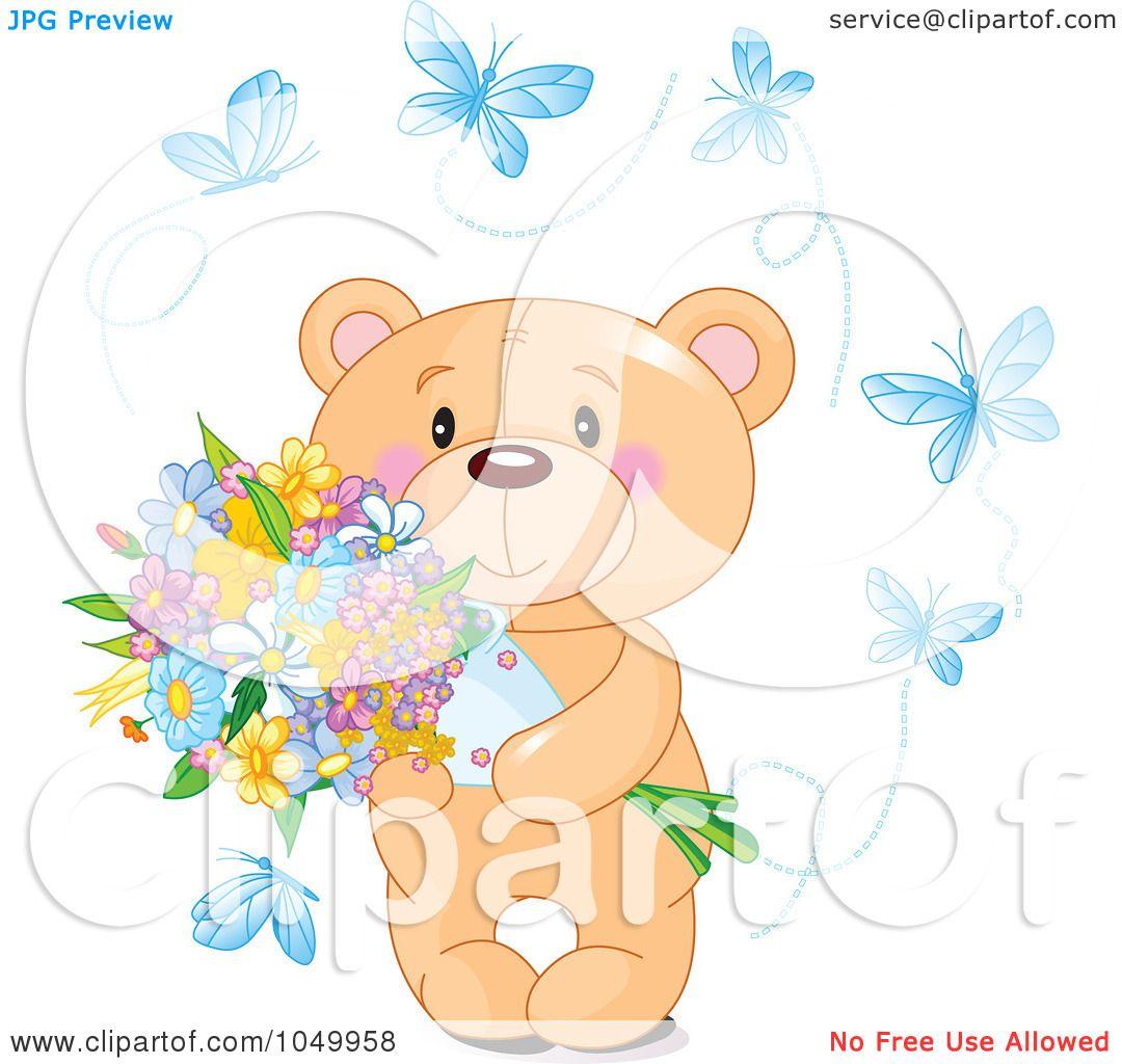 Royalty-Free (RF) Clip Art Illustration of a Teddy Bear ...
