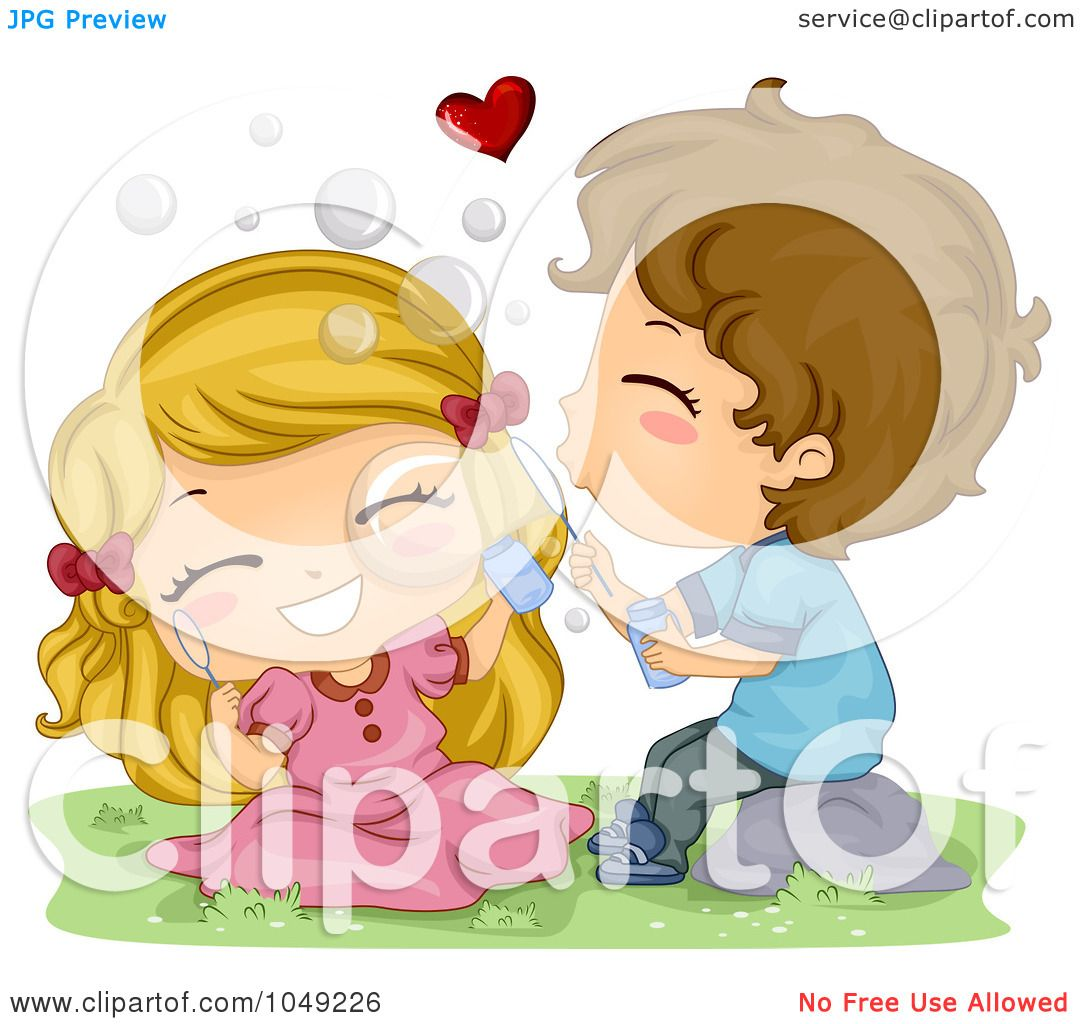 Royalty Free Rf Clip Art Illustration Of A Valentine