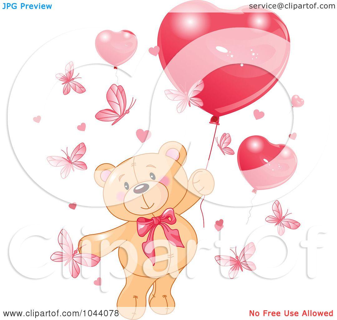 Royalty-Free (RF) Clip Art Illustration of a Valentine ...