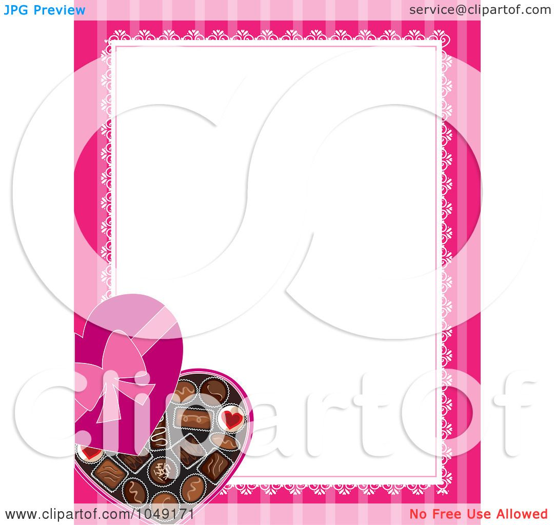Royalty-Free (RF) Clip Art Illustration Of A Valentines