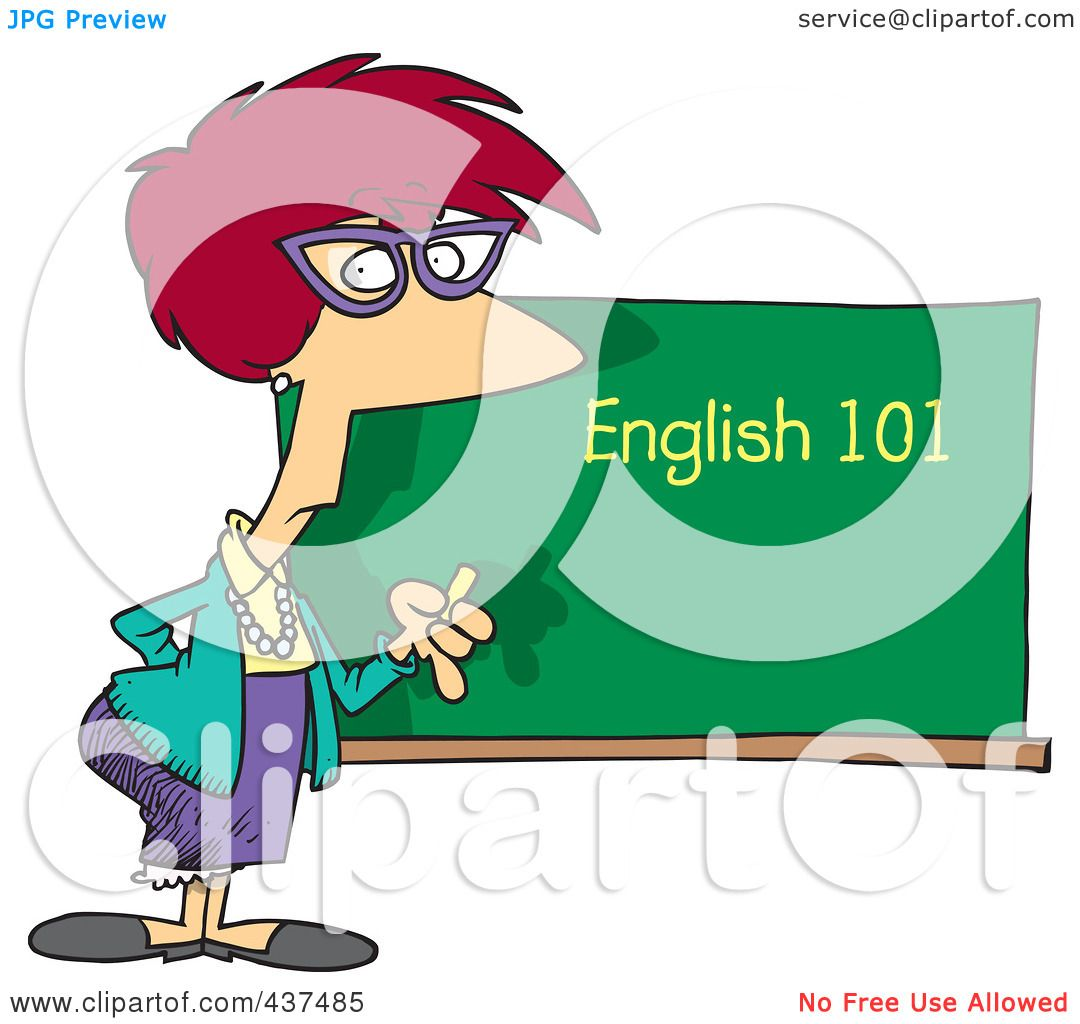 clipart english teacher - photo #6