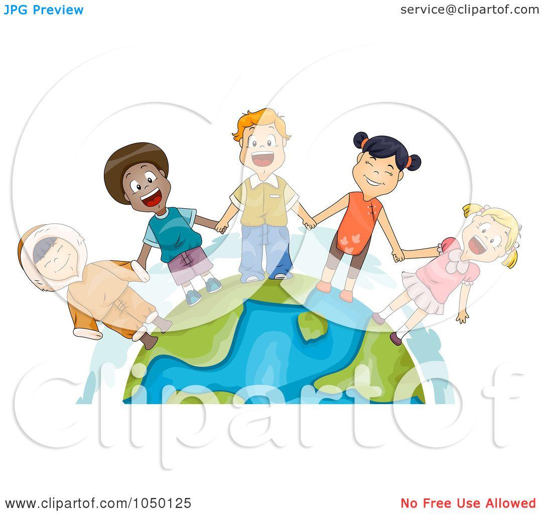 Royalty-Free (RF) Clip Art Illustration of Diverse ...