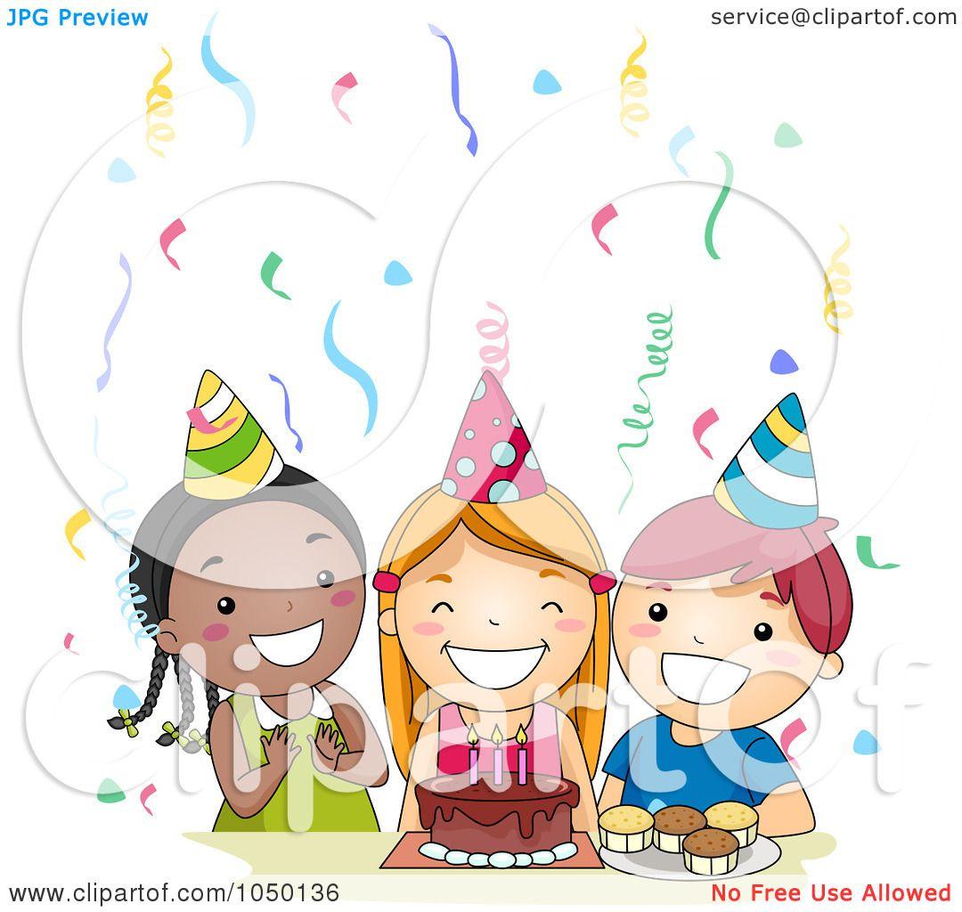 Royalty-Free (RF) Clip Art Illustration of Diverse Kids ...