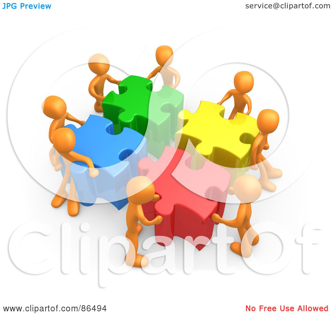 Students Working Together Clipart Royalty-free clipart picture