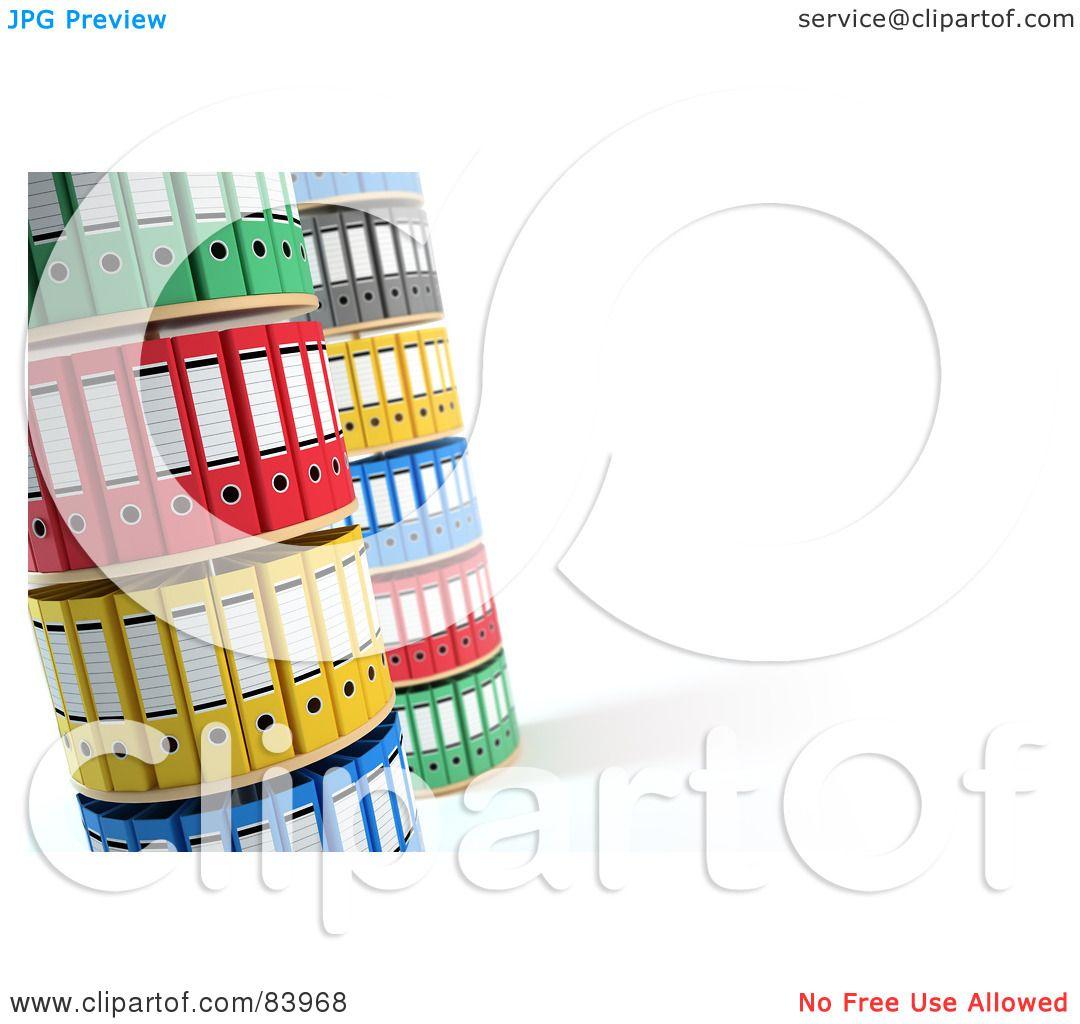 Organized Binder Clipart Royalty-Free (R...