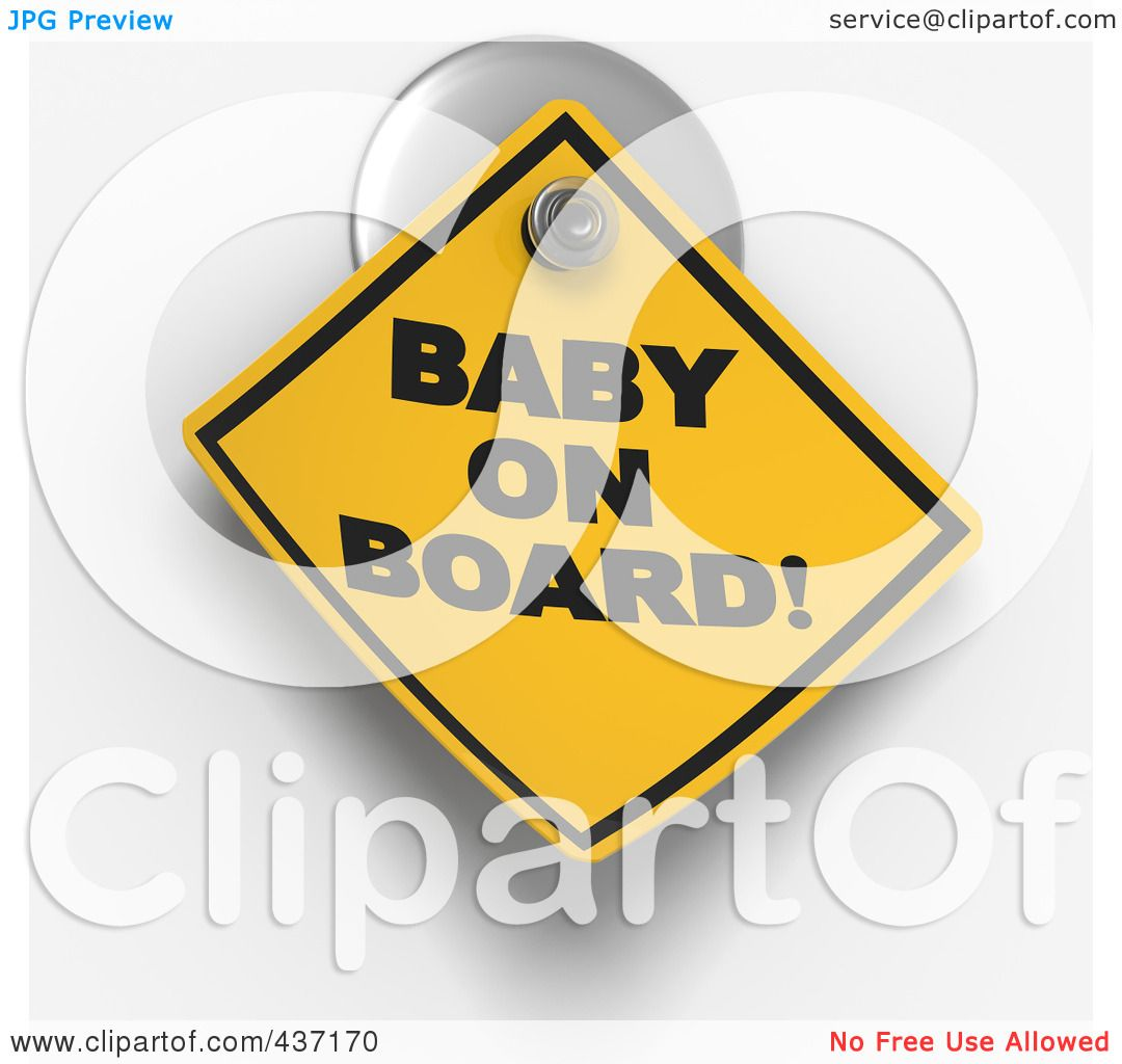 clipart baby on board - photo #45