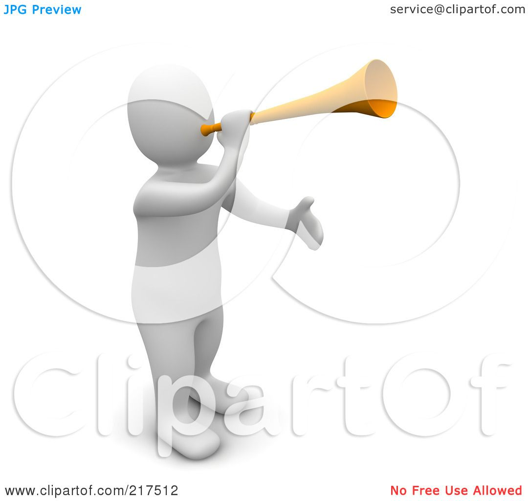 clipart man with megaphone - photo #25