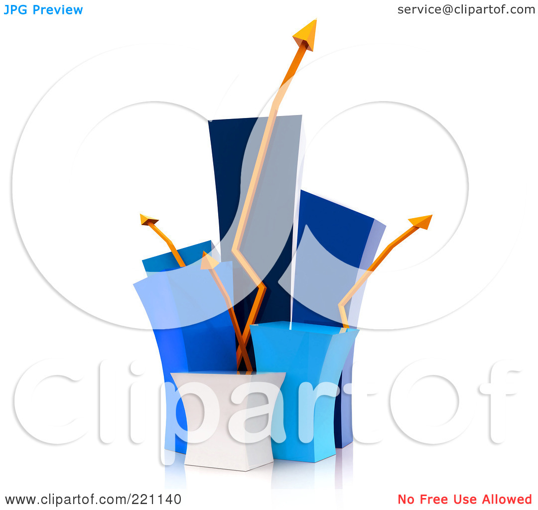 Royalty Free RF Clipart Illustration Of A 3d Funky Blue Bar Graph With Crazy Orange Arrows 1024221140 Judy Norton Taylor as Herself, Nude ...