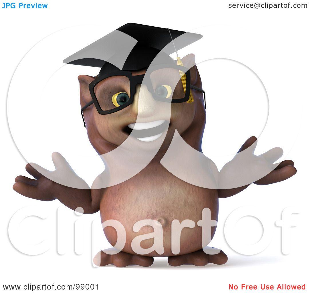 owl professor clipart - photo #30