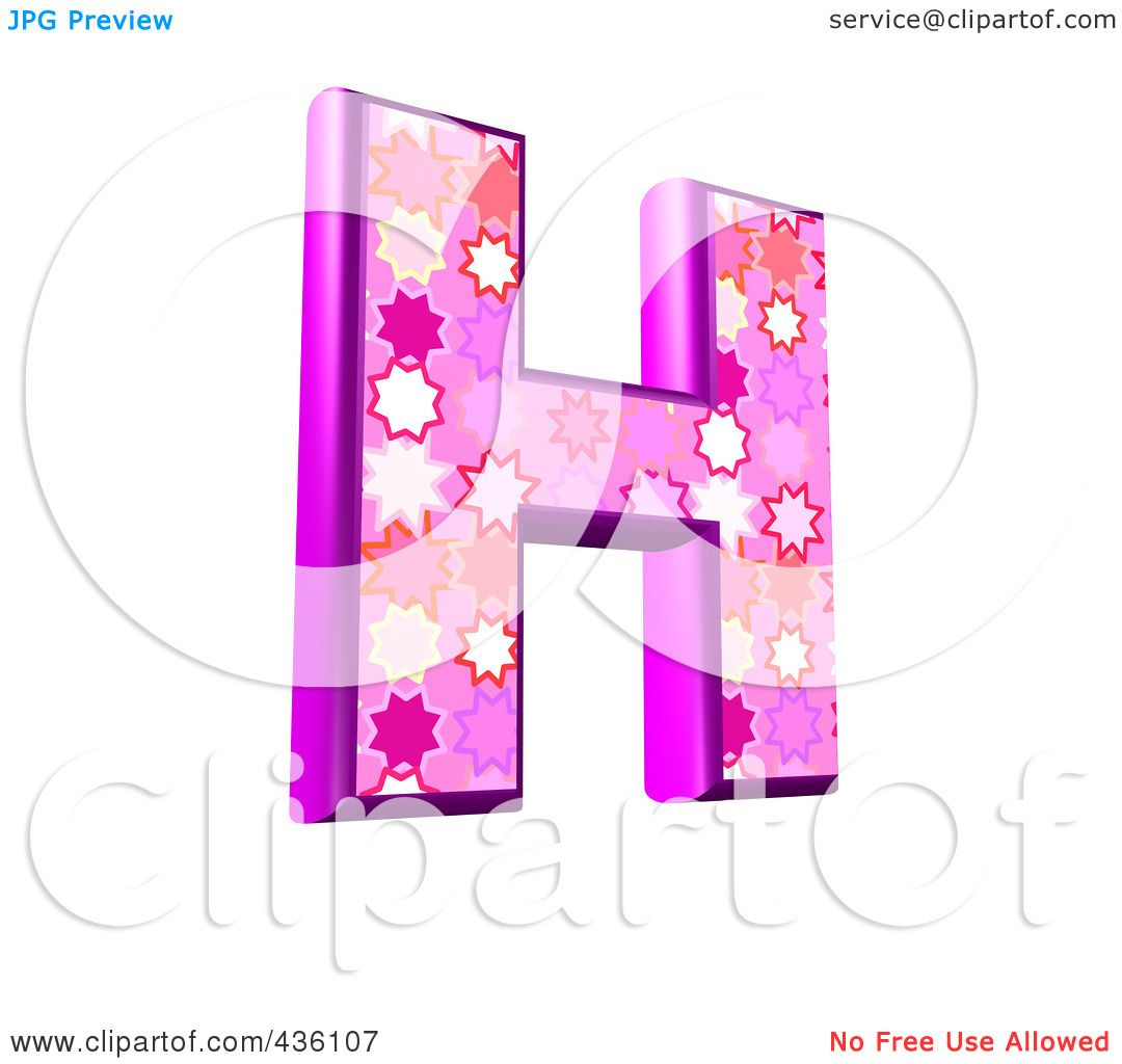 Set of 4 Letter H Flowers and Butterflies Pink Foam Coasters CJ2005HFC  999  1299