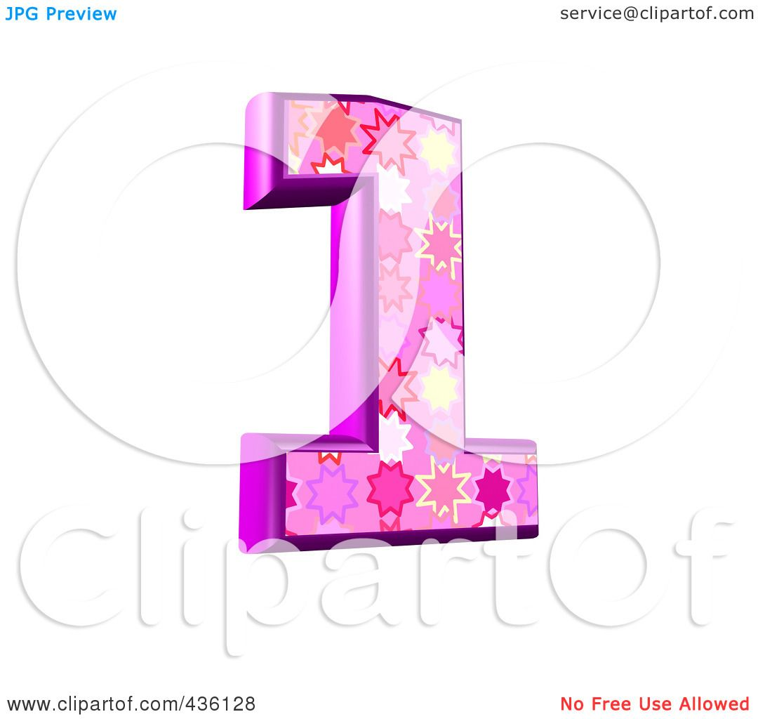 Royalty-Free (RF) Clipart Illustration of a 3d Pink Burst ...
