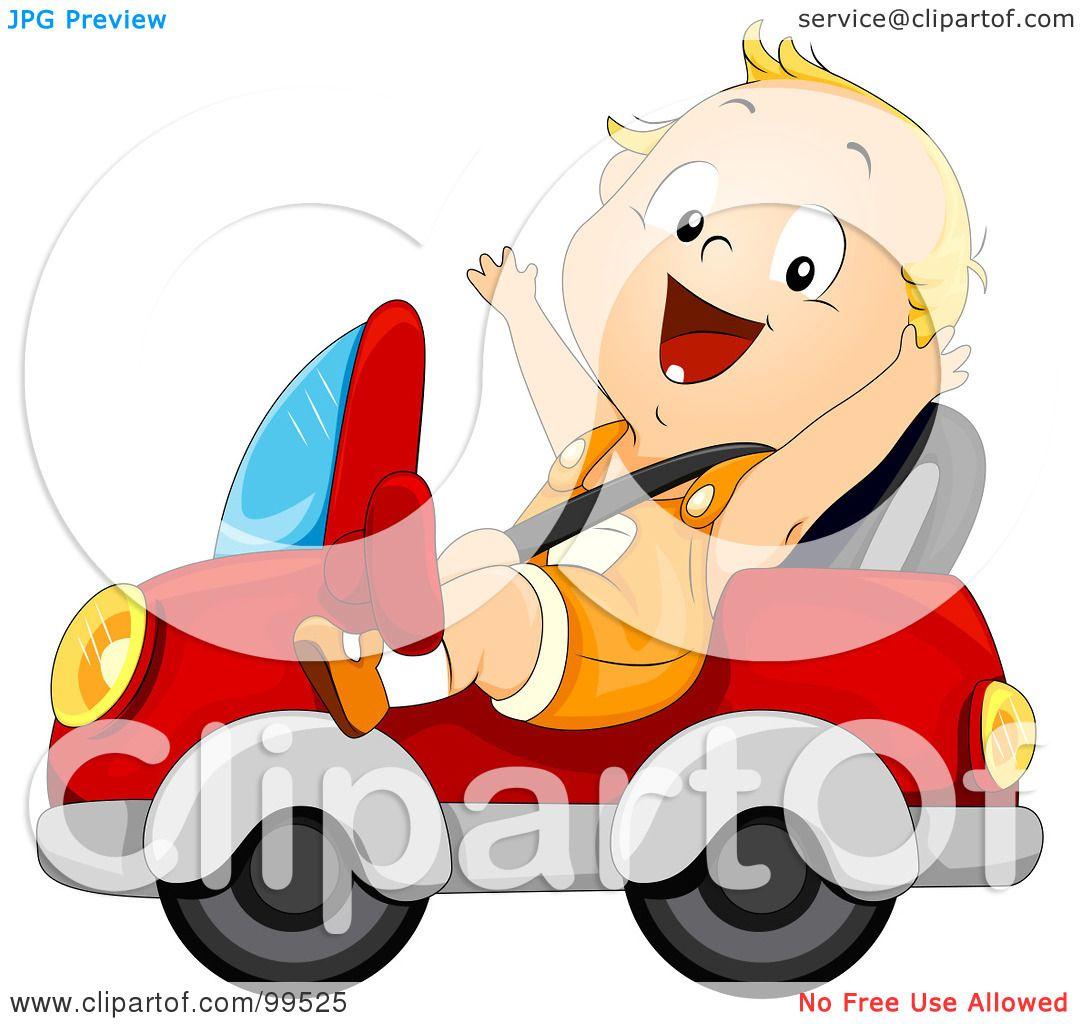 Royalty Free Rf Clipart Illustration Of A Baby Boy