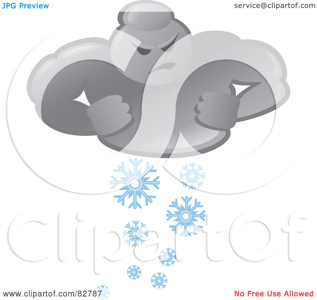 Royalty-Free  RF  Clipart  Weatherman Clipart