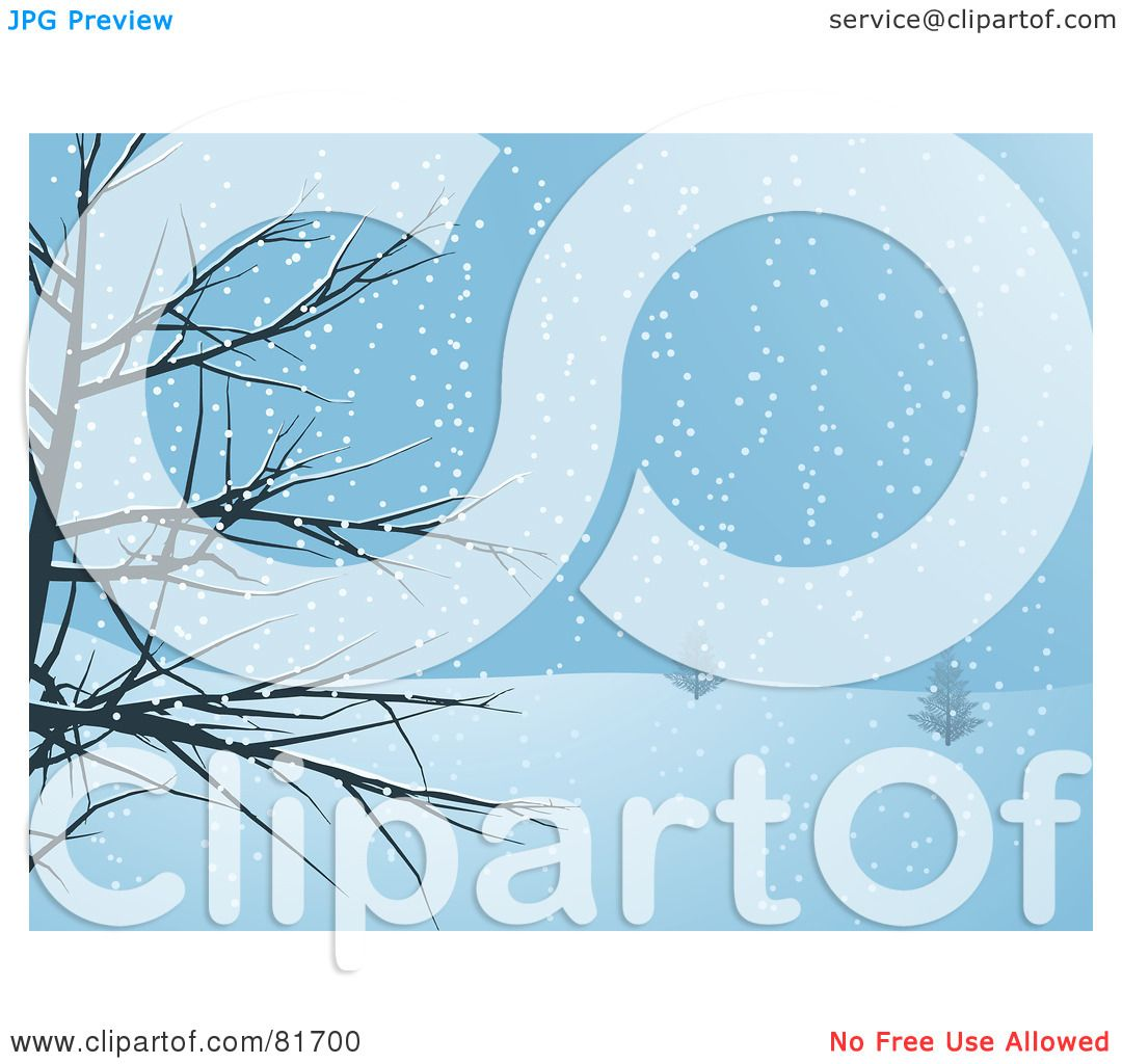 Snowy Weather Clip Art Royalty-free clipart picture