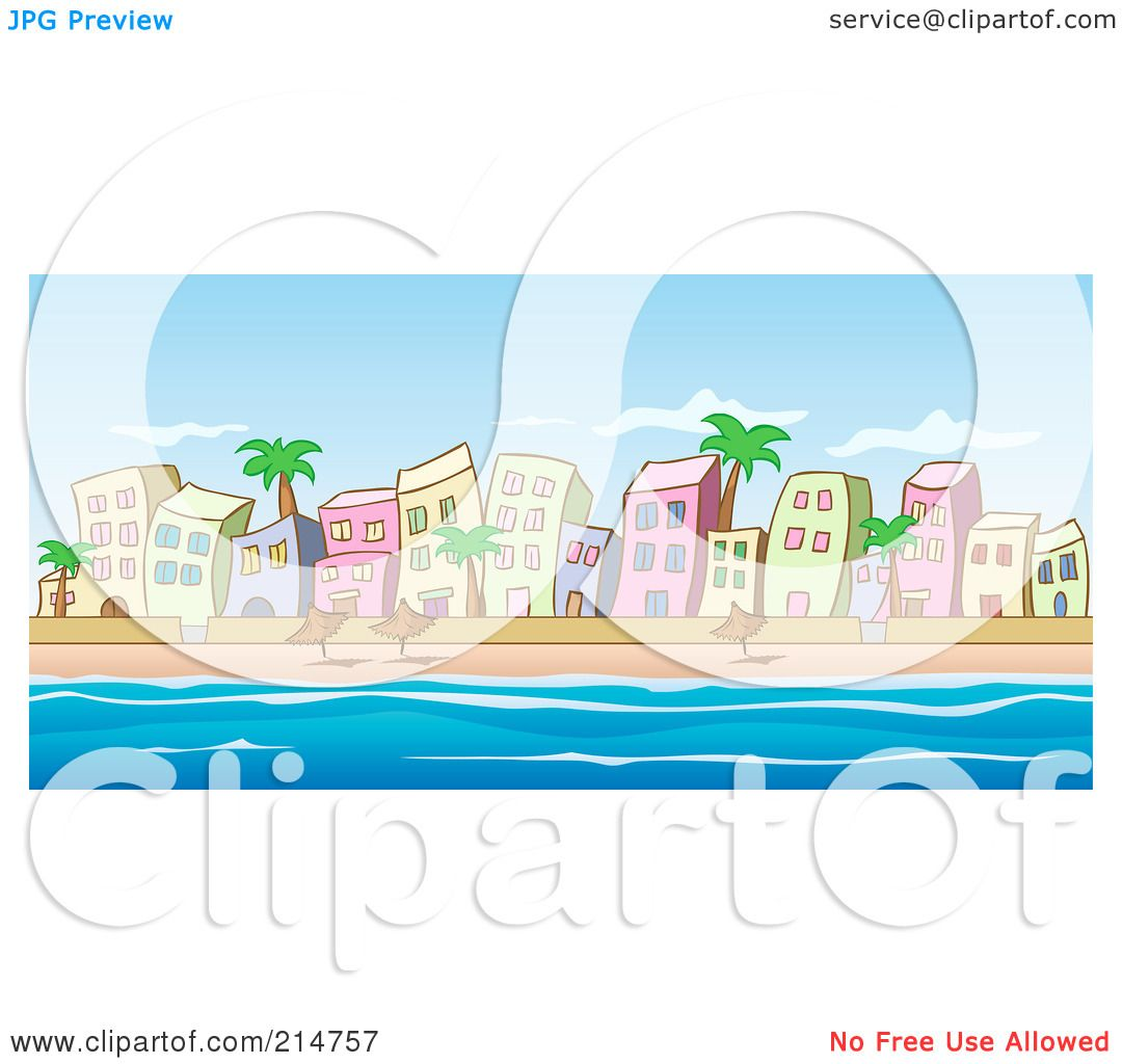 beachfront coloring pages - photo#42