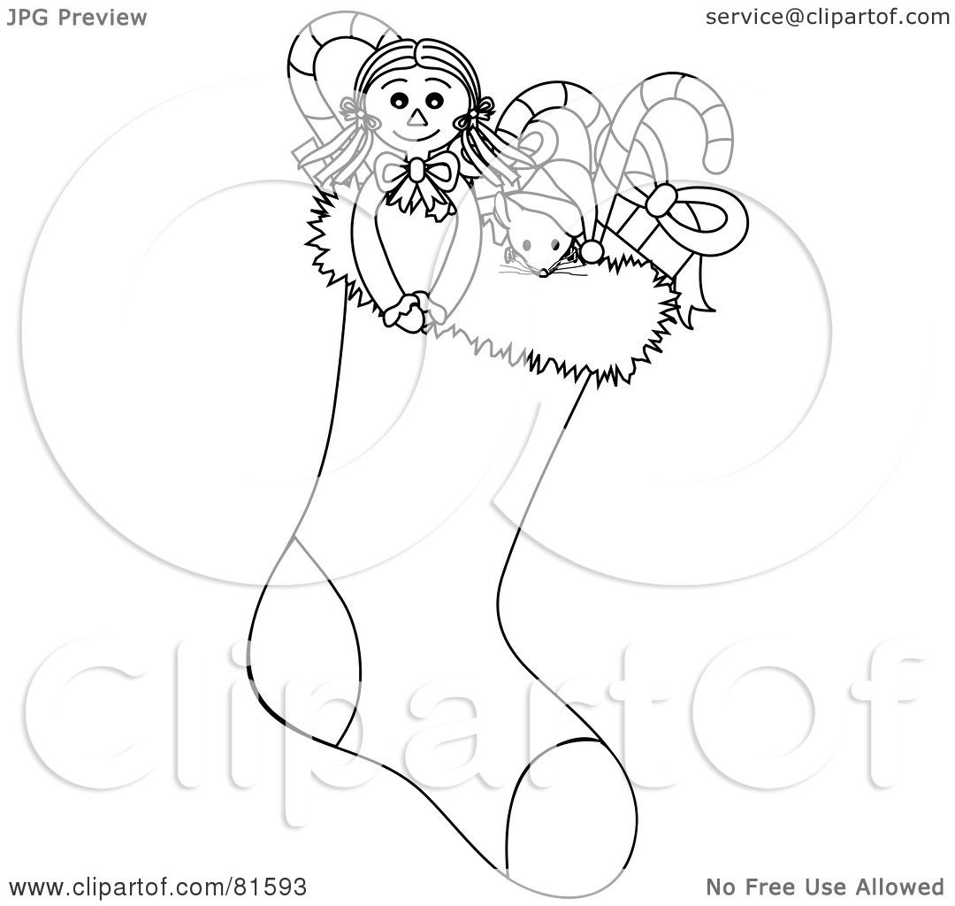 pictures of christmas stockings clipart new calendar template site ...