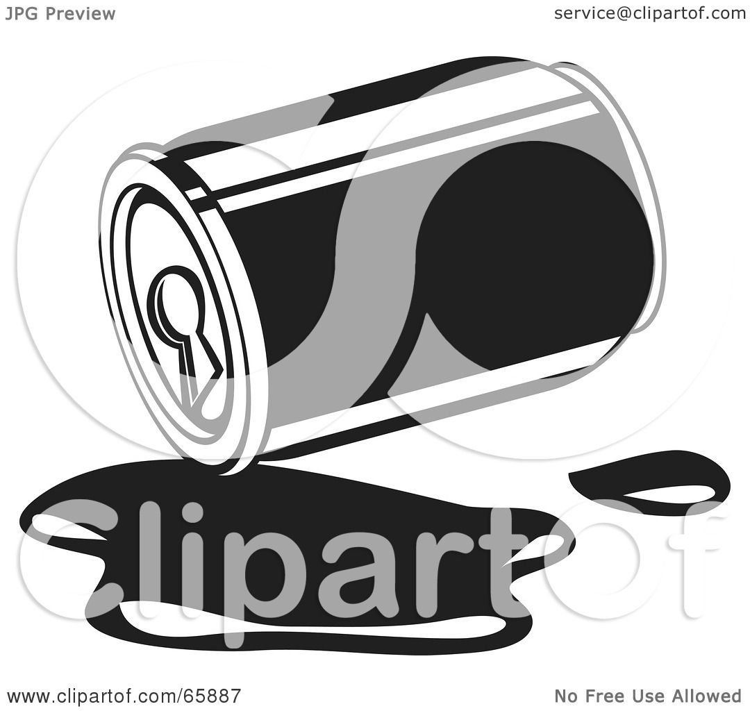 Soda Can Clip Art Black And White Images & Pictures - Becuo