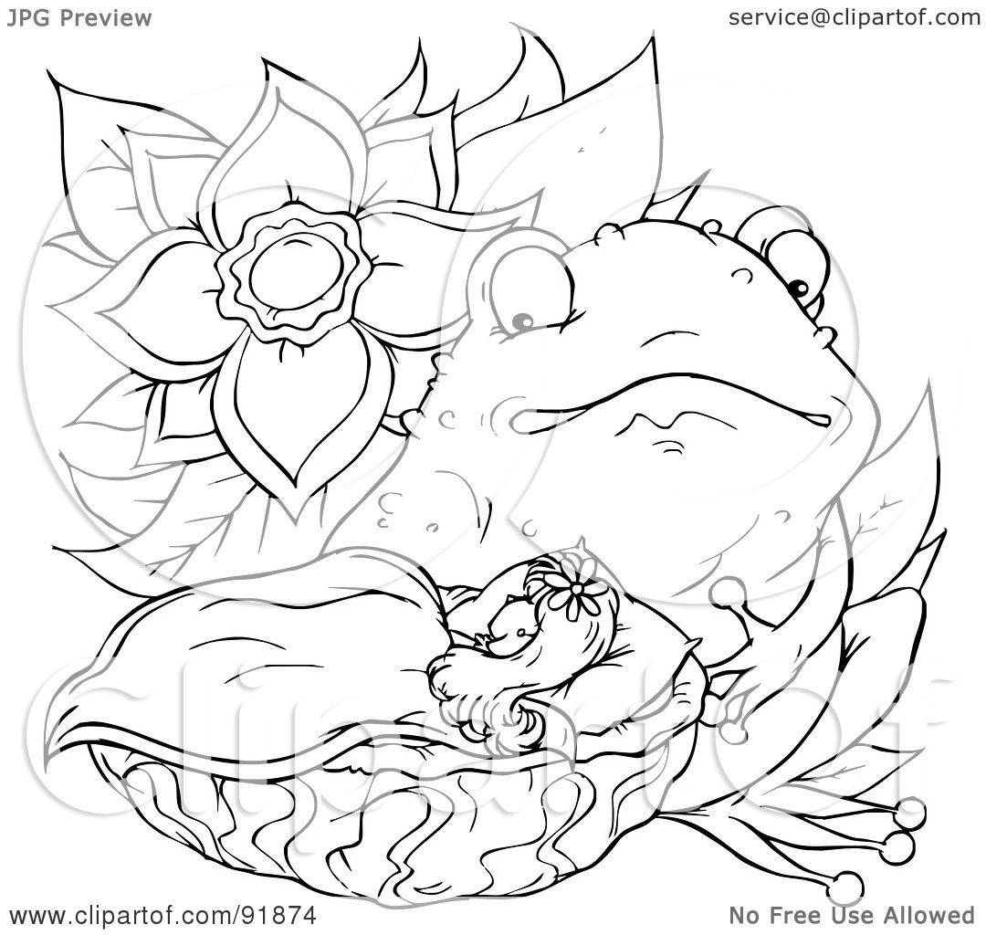 thumbelina 1994 coloring pages - photo#50