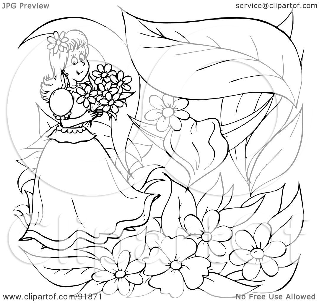 thumbelina 1994 coloring pages - photo#30