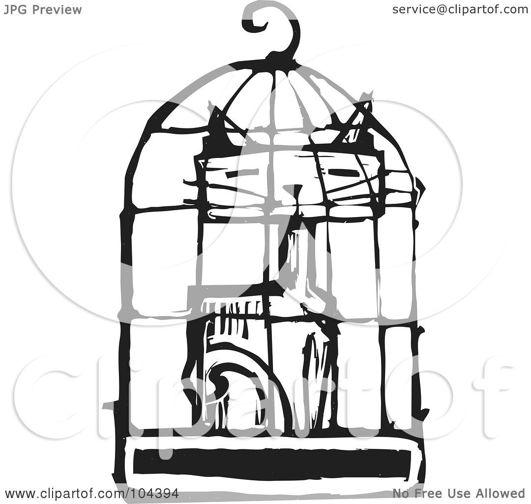 cat cage clipart - photo #34