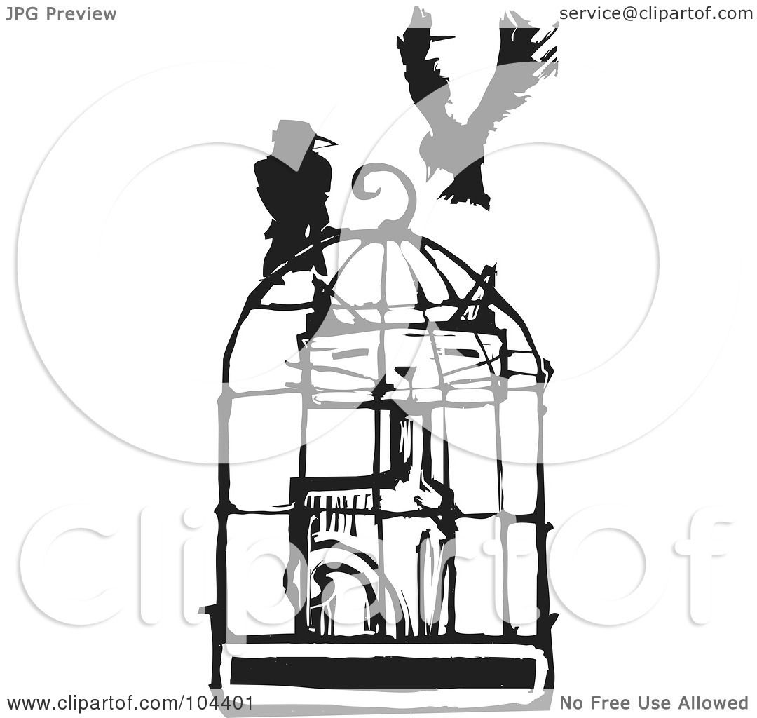 cat cage clipart - photo #17