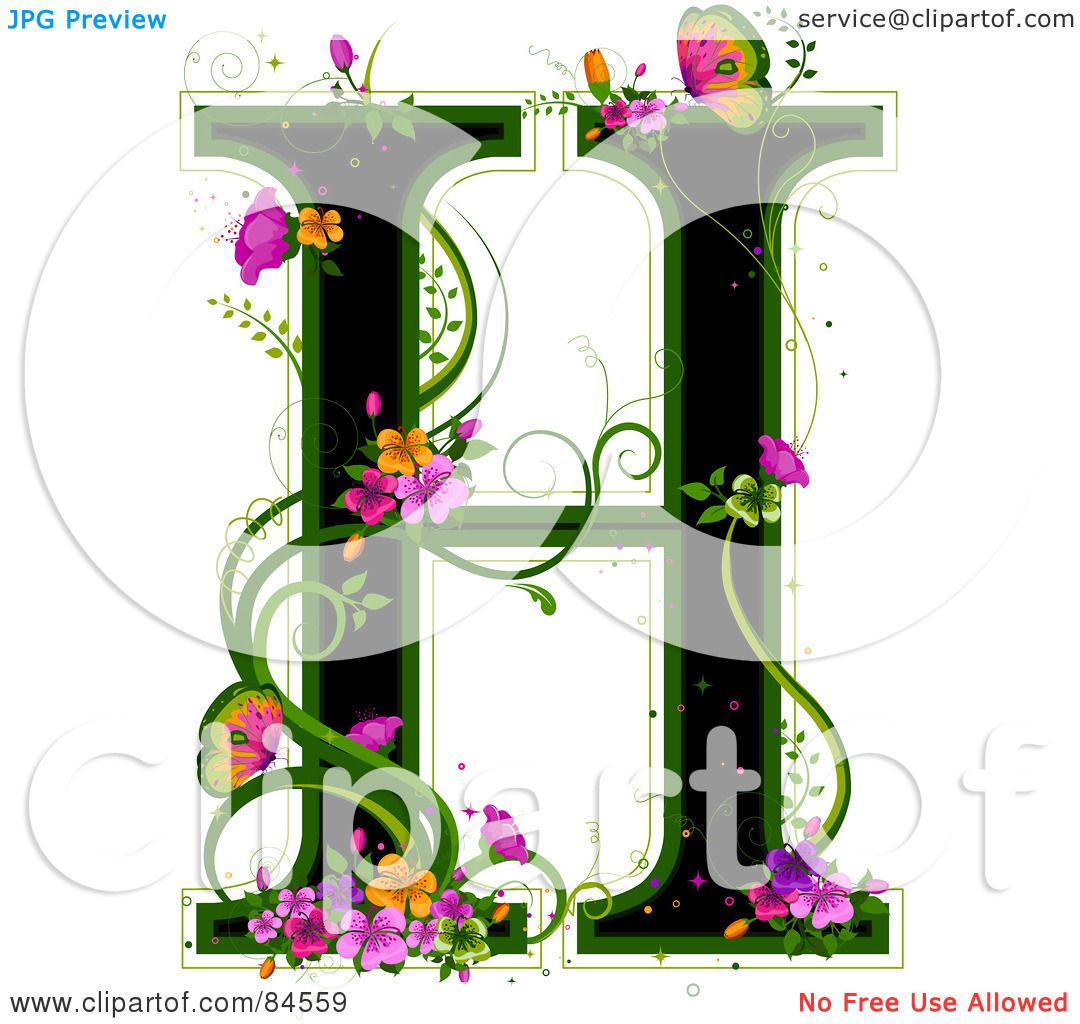 flowers by desig...H Letter Design
