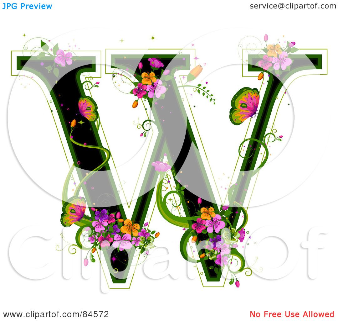 Royalty Free Rf Clipart Illustration Of A Black Capital