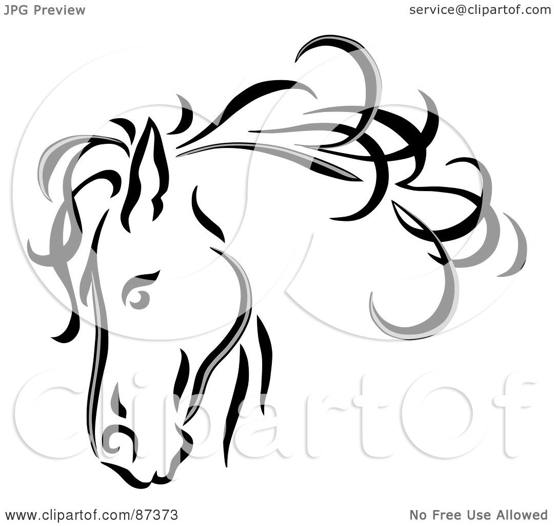 Line Art Royalty Free : Royalty free rf clipart illustration of a black line art