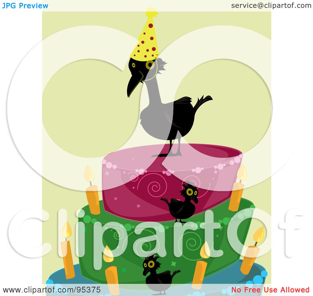 royalty free rf clipart illustration of a black over the hill crow rh clipartof com funny over the hill clipart over the hill clip art 50