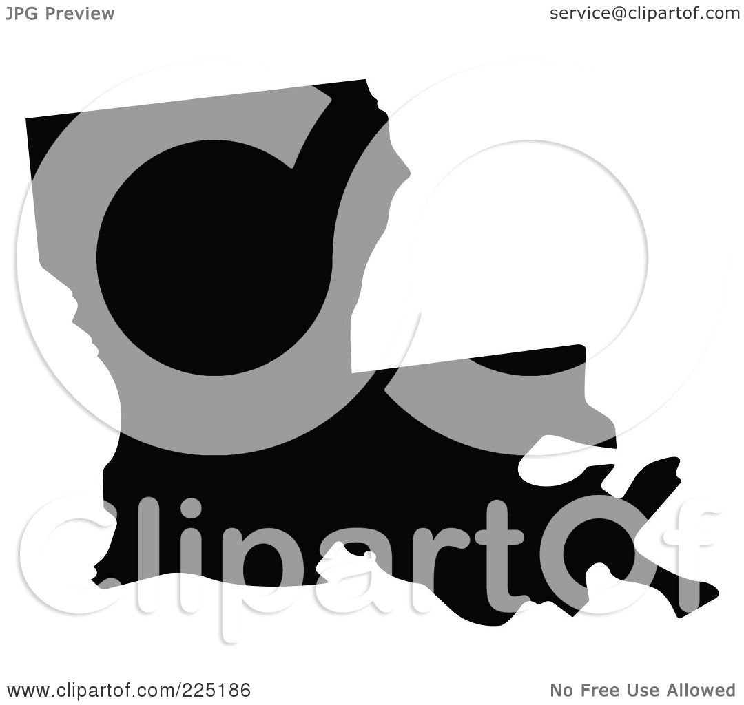Royalty-Free (RF) Clipart Illustration of a Black ...