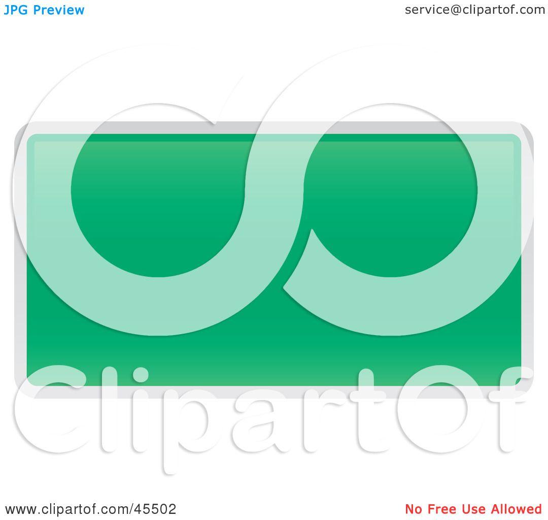 royaltyfree rf clipart illustration of a blank green