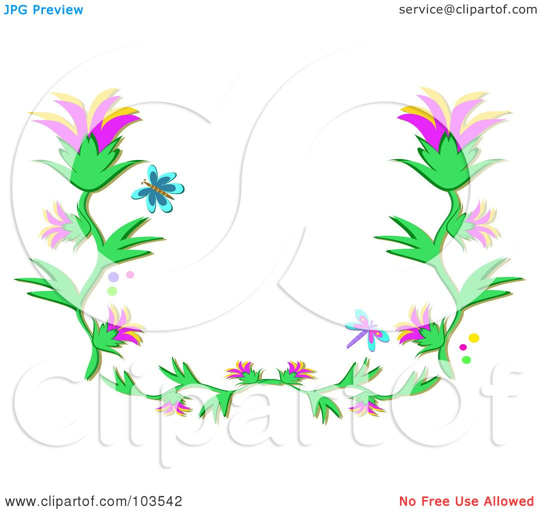 royalty free rf clipart illustration of a blue butterfly