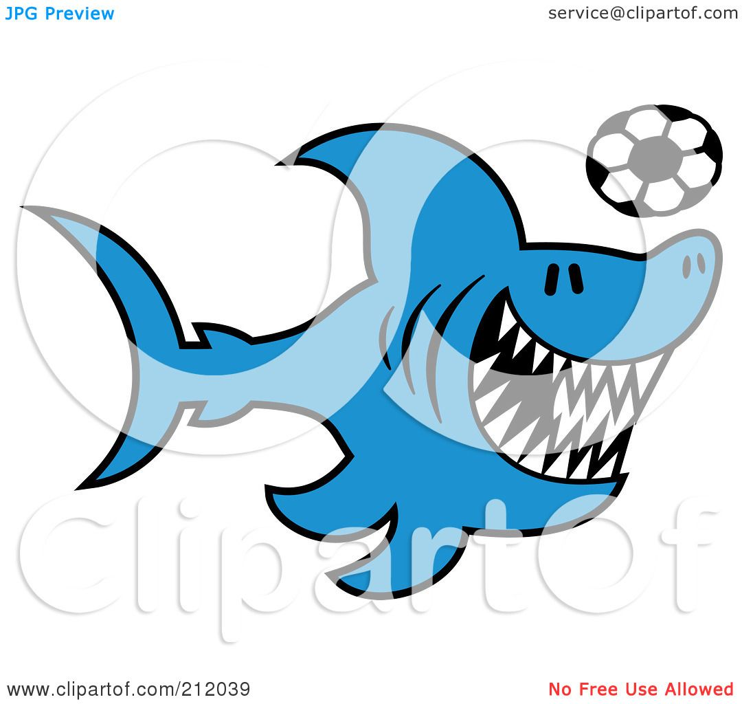 royalty free rf clipart illustration of a blue shark playing rh clipartof com great white shark clip art free clipart of great white shark