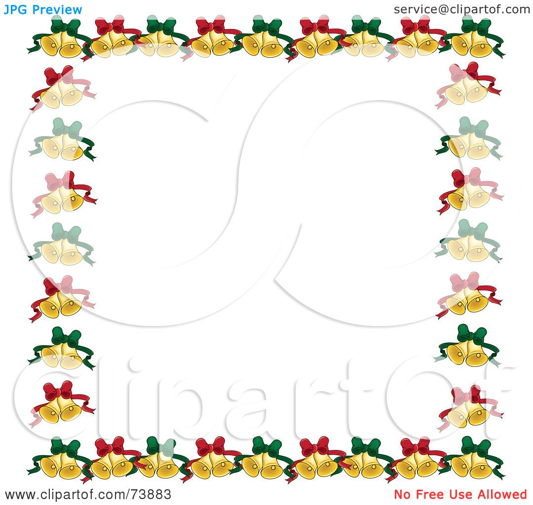 Royalty free rf clipart illustration of a border