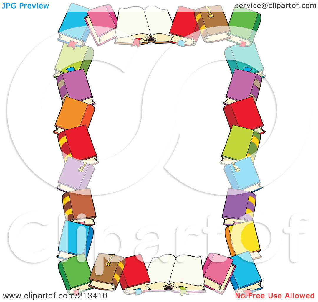 Royalty-Free (RF) Clipart of Book Frames, Illustrations, Vector ...