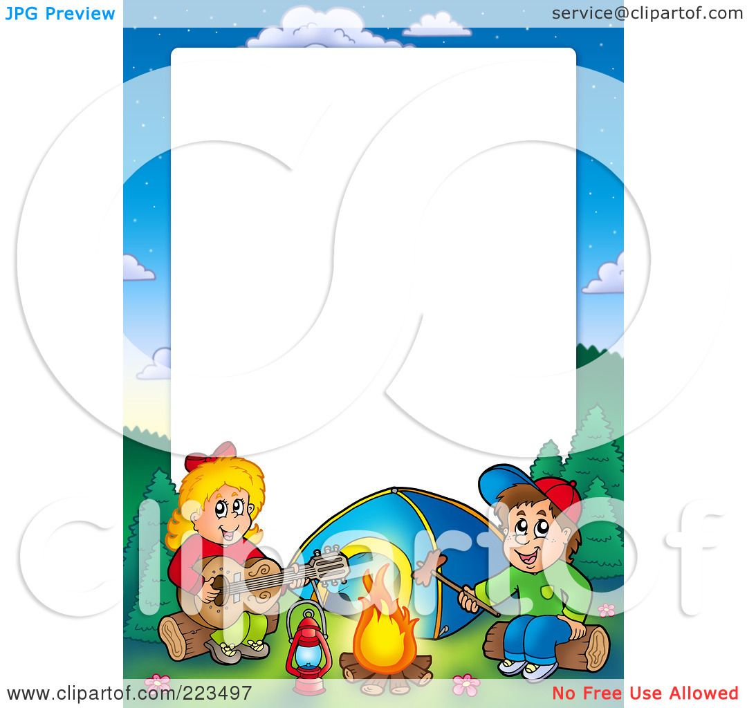 royaltyfree rf clipart illustration of a boy and girl
