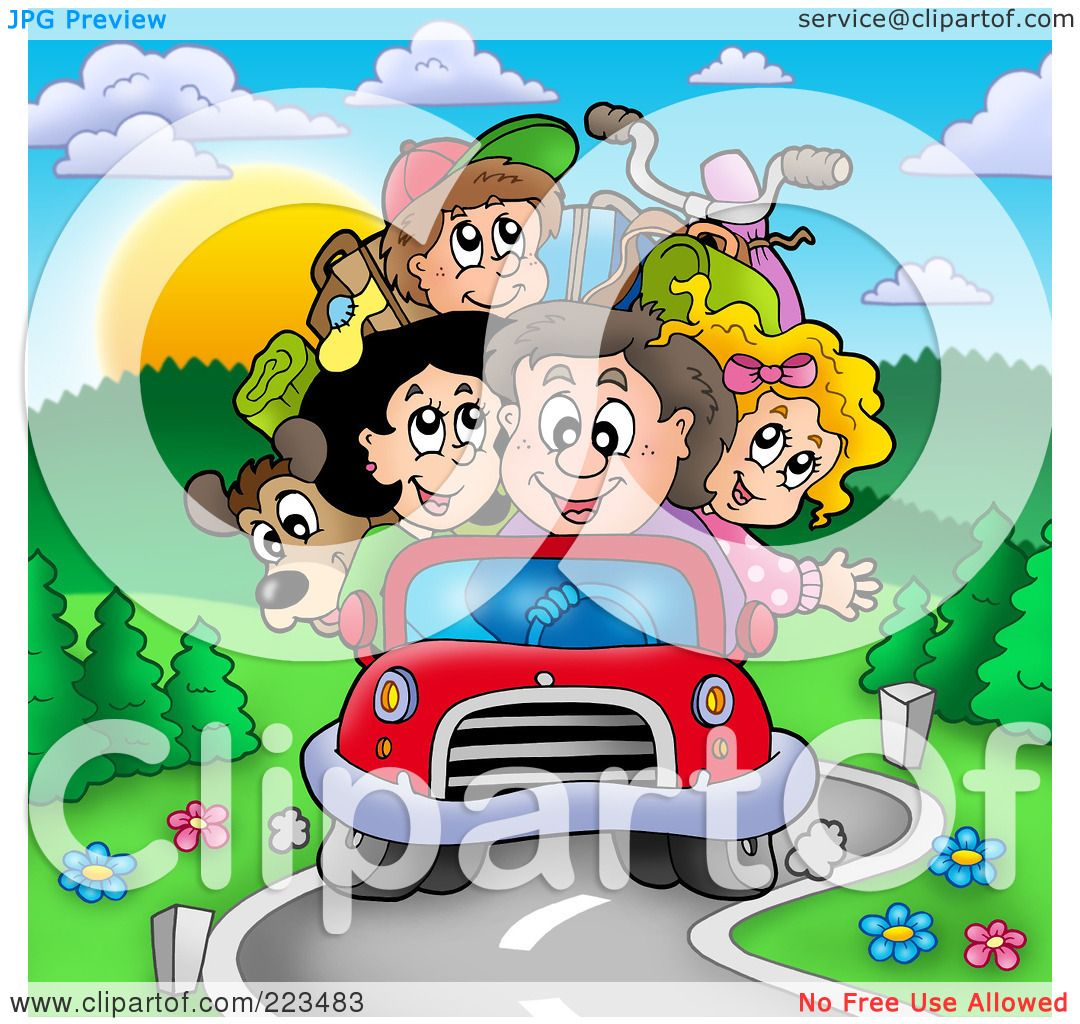 clipart of family vacation - photo #32