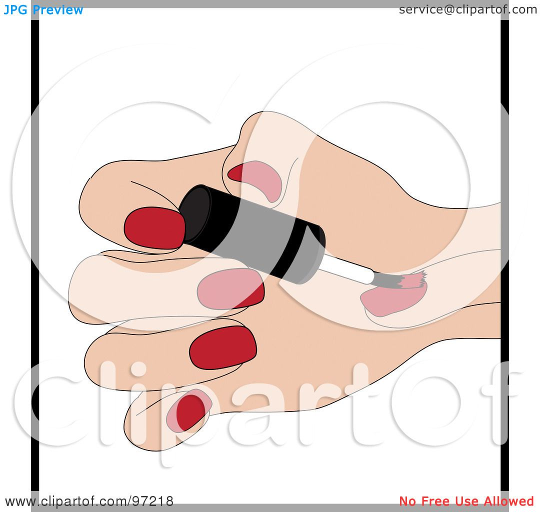 Royalty-Free (RF) Clipart Illustration of a Caucasian ...