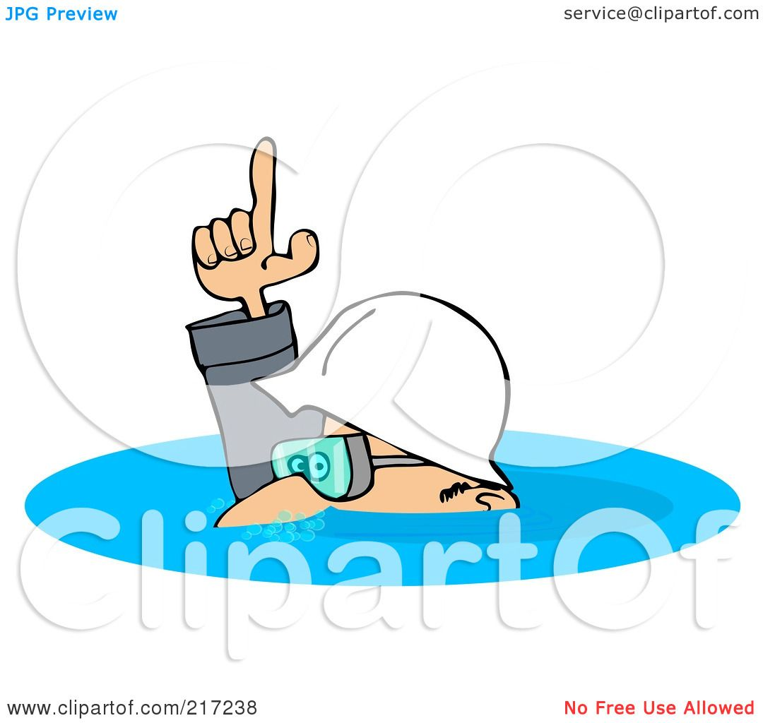 Royalty-Free (RF) Clipart Illustration of a Caucasian Worker Man ...