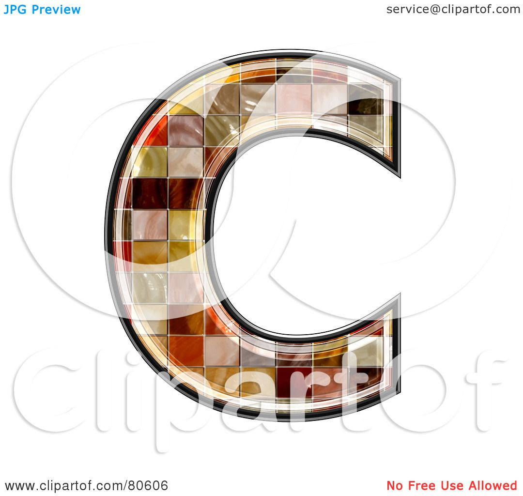 Royalty free rf clipart illustration of a ceramic tile symbol royalty free rf clipart illustration of a ceramic tile symbol capitol letter c by chrisroll doublecrazyfo Image collections