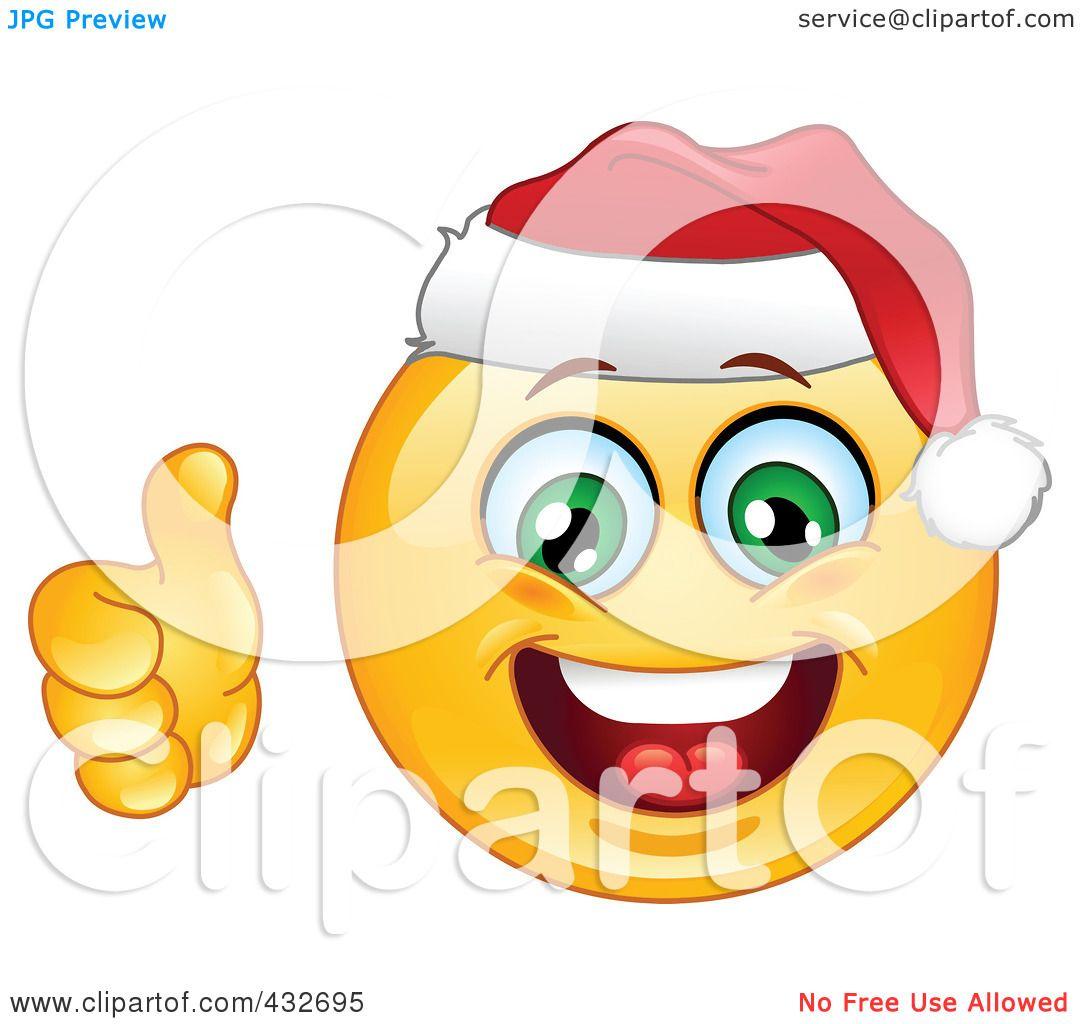 clip art christmas smiley face - photo #44