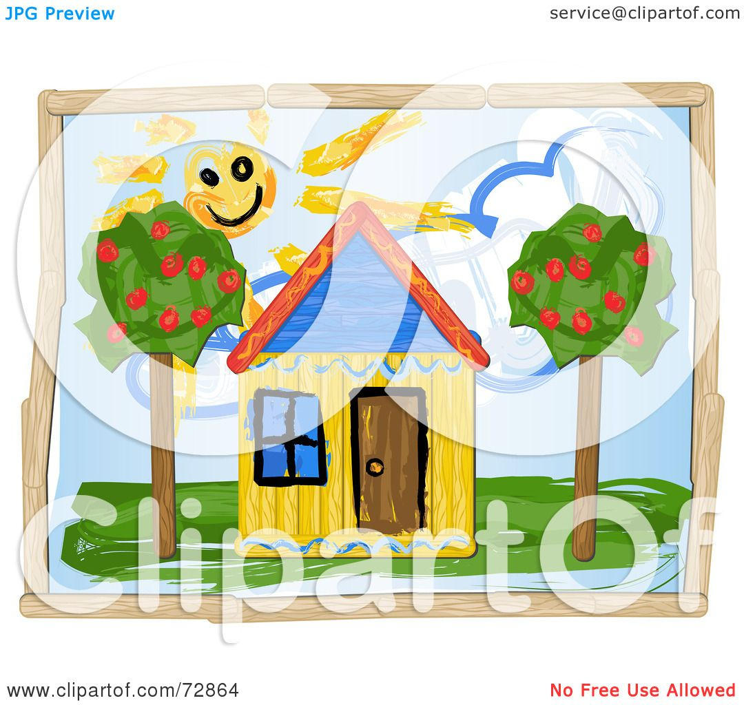 Royalty Free Rf Clipart Illustration Of A Child Like
