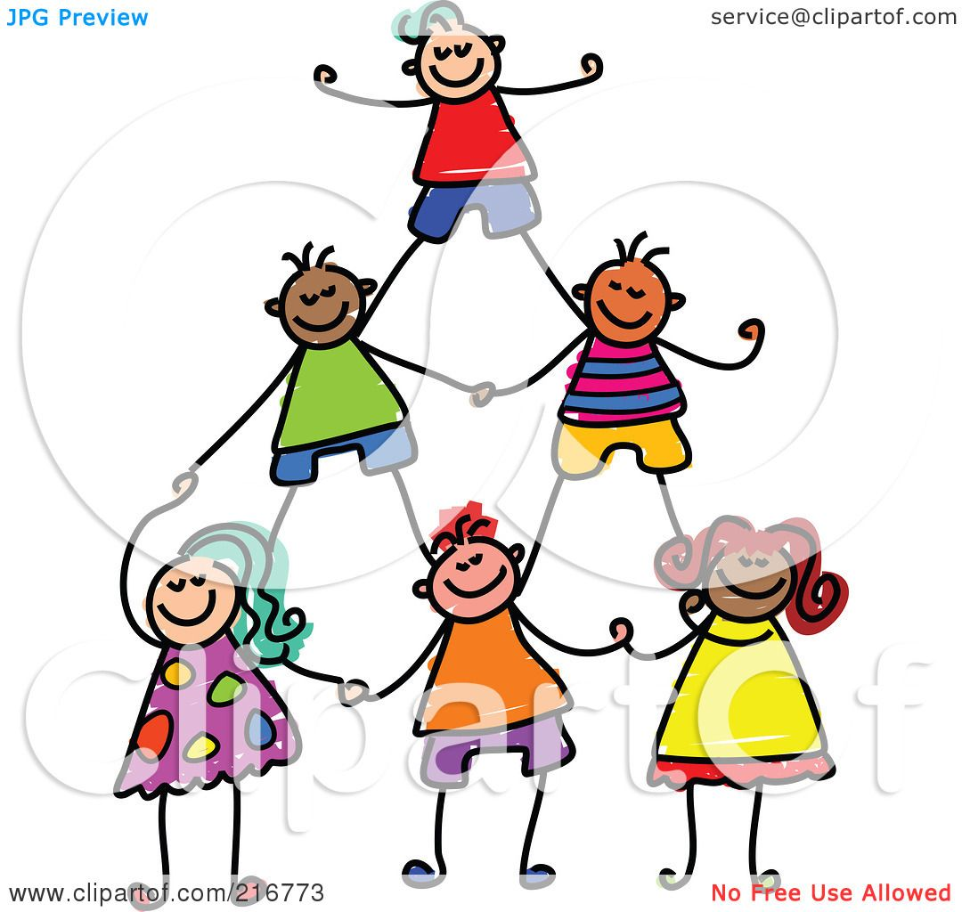 Clipart Illustration Childs Sketch