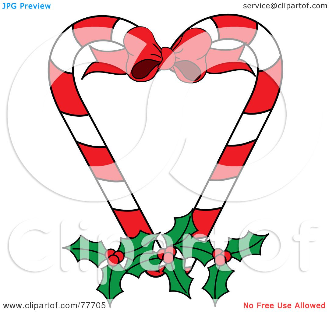 Royalty free rf clipart illustration of a christmas
