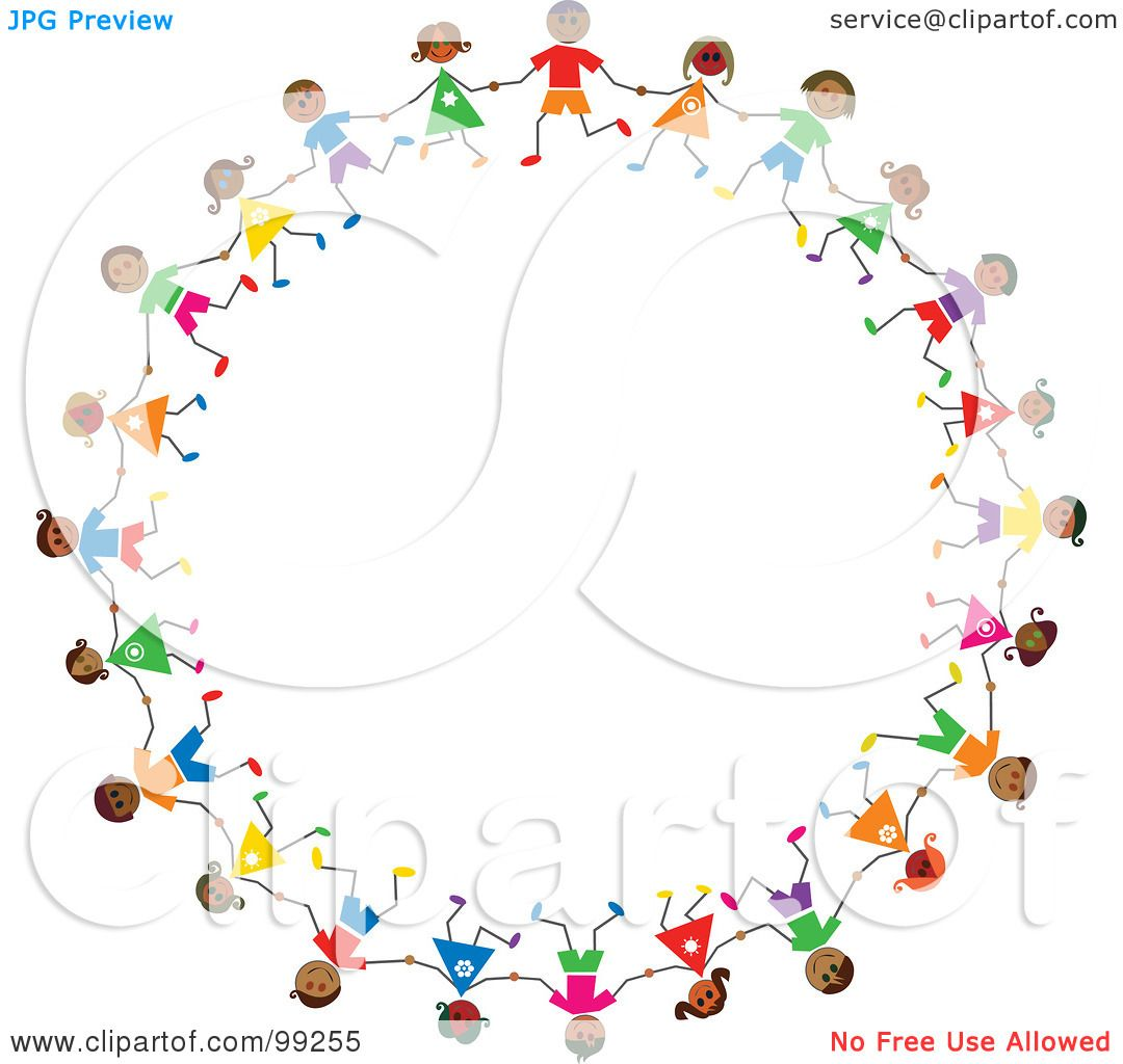 Royalty Free Rf Clipart Illustration Of A Circle Of