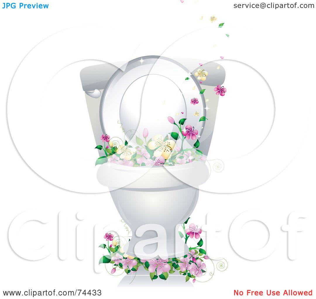 In Bathroom Vector Clipart Vector Image Images Cleaning Bathroom