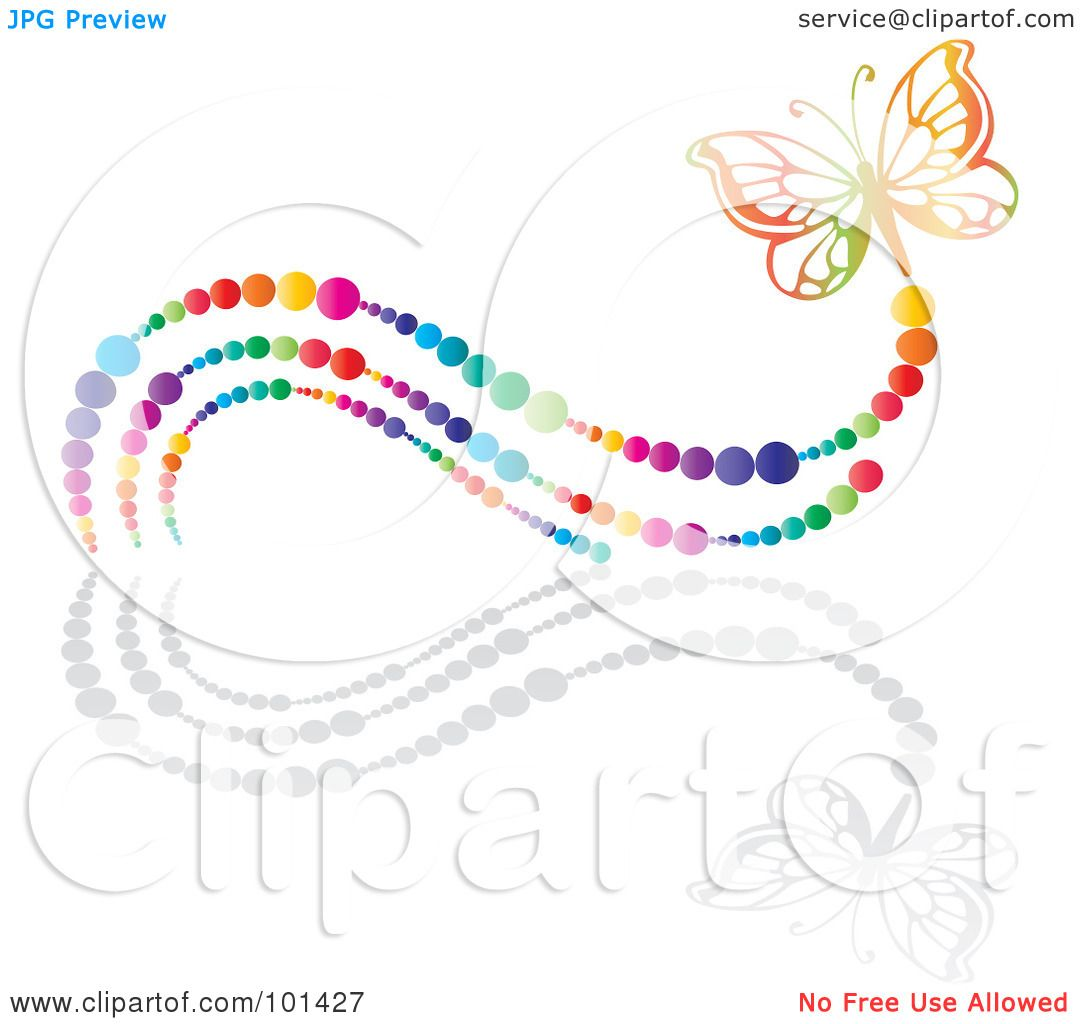 Royalty-Free (RF) Clipart Illustration of a Colorful