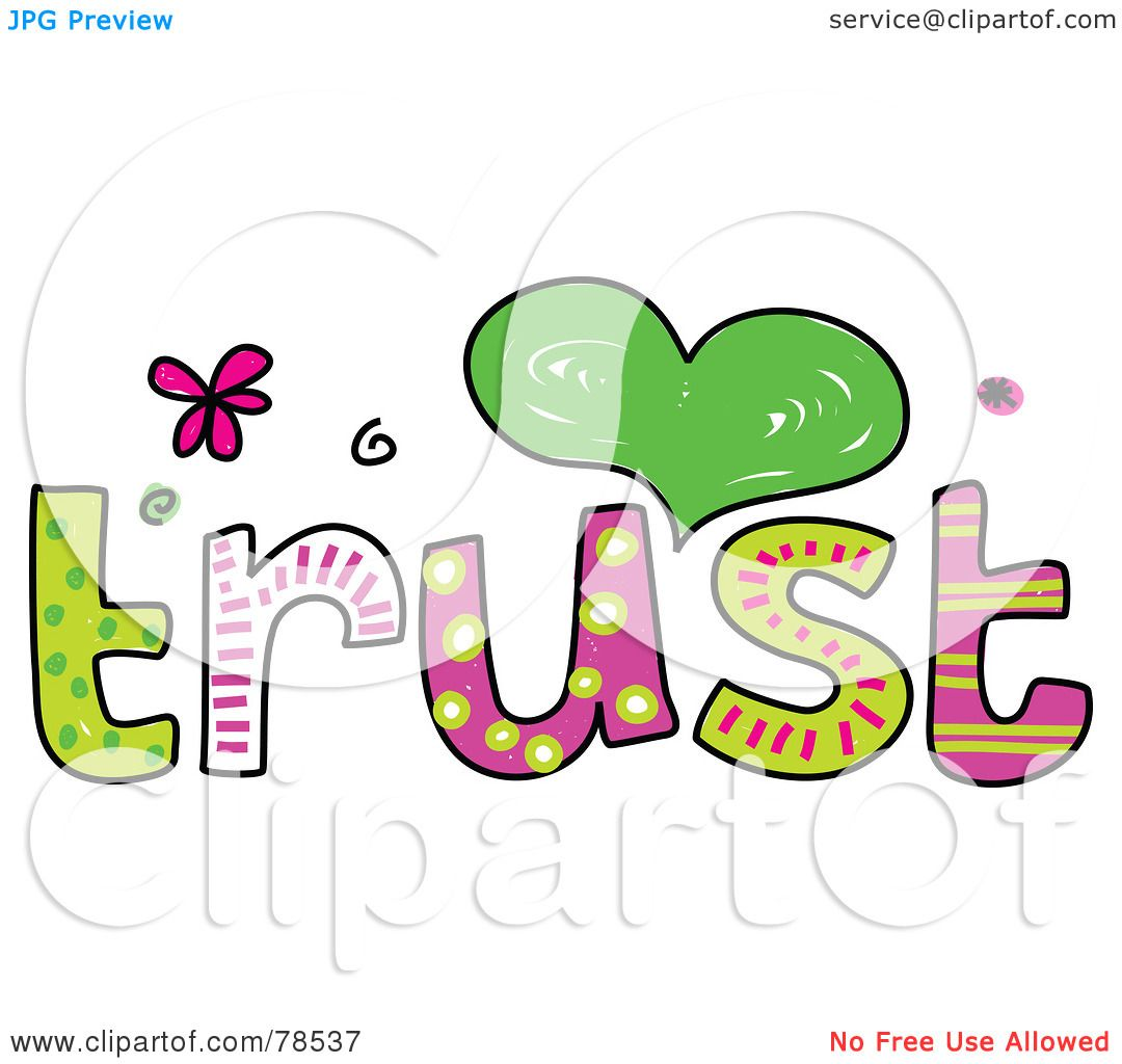 Royalty Free Rf Clipart Illustration Of A Colorful Trust