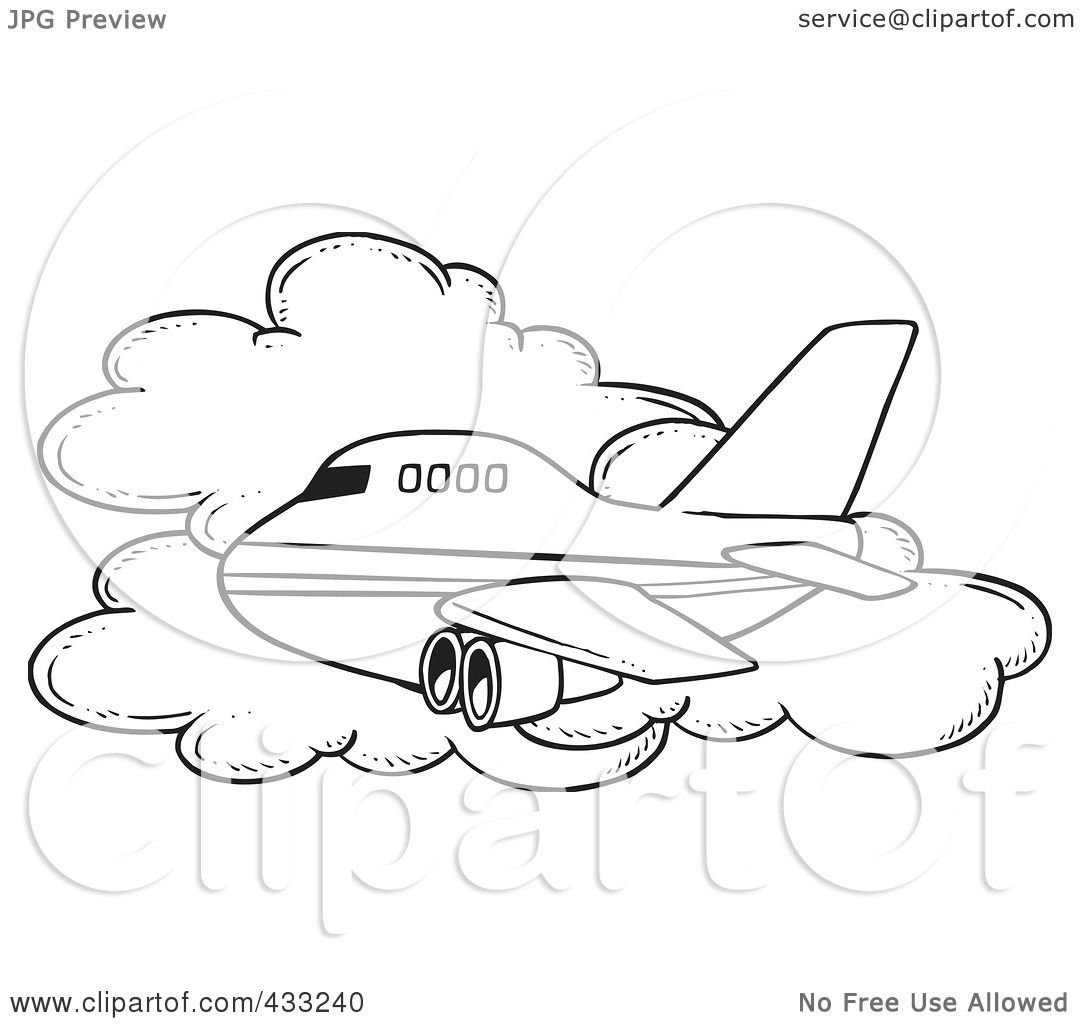 royalty free rf clipart illustration of a coloring page line art